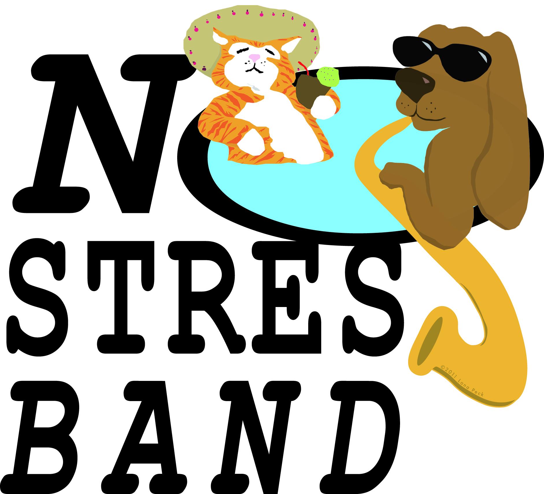 No Stress Band Logo