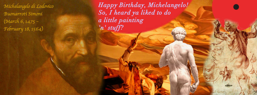 Michelangelo FB Cover Photo